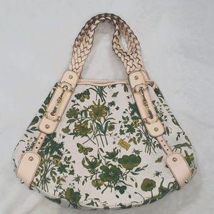 Gucci Floral Canvas Pelham Shoulder Bag